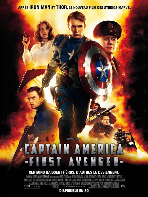 Captain America : First Avenger   3D ma critique