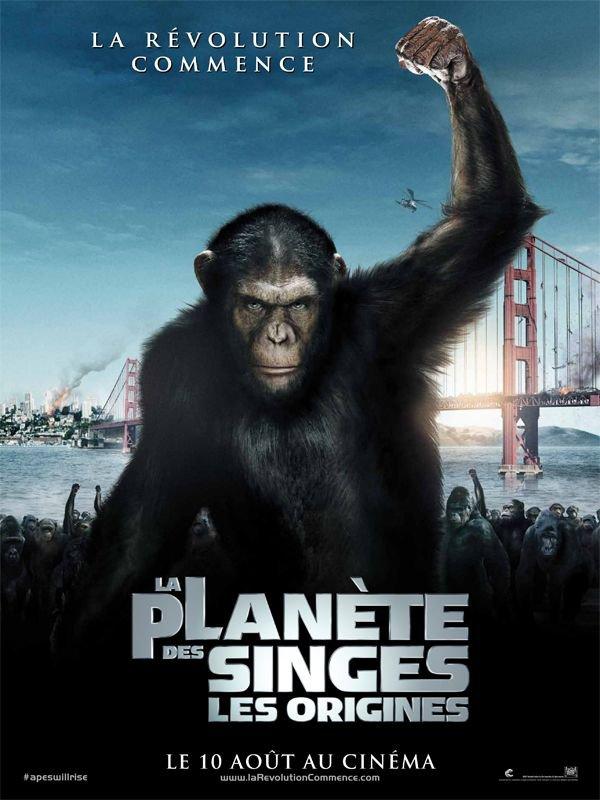 La Planète des singes : les origines ma critique