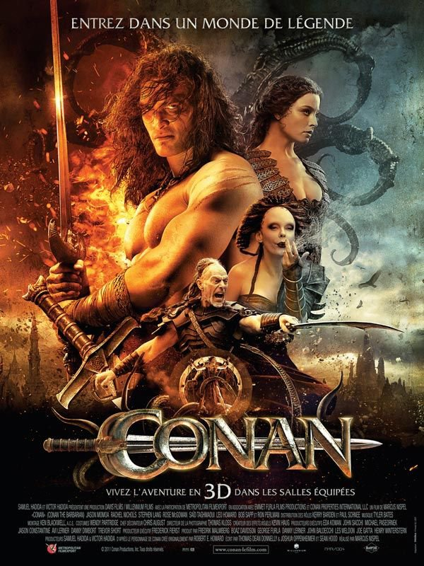 Conan le barbare ma critique