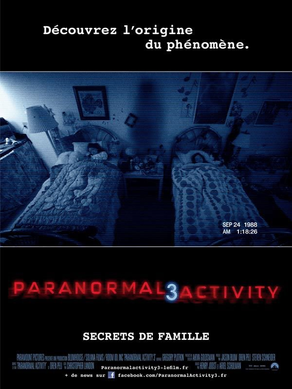 Paranormal Activity 3 ma critique