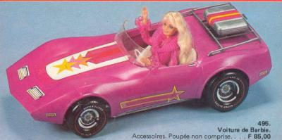 barbie beaut dans sa mythique voiture de sport format. Black Bedroom Furniture Sets. Home Design Ideas