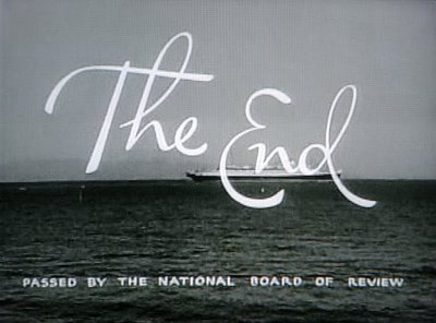 .                      THE END . . .