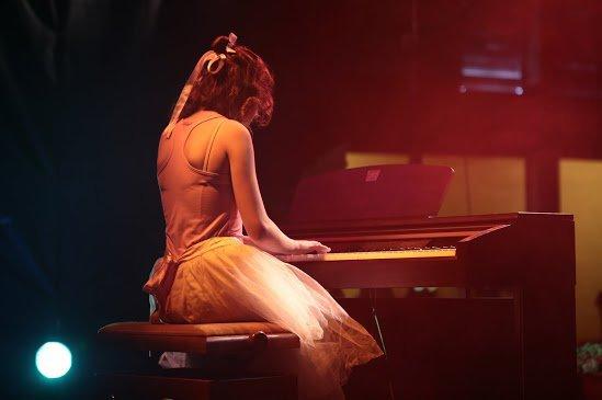 Moi jouant du piano ♥