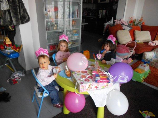 Anniversaire des princesses!!!!