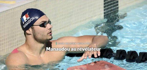 CANET Florent Manaudou, premier test