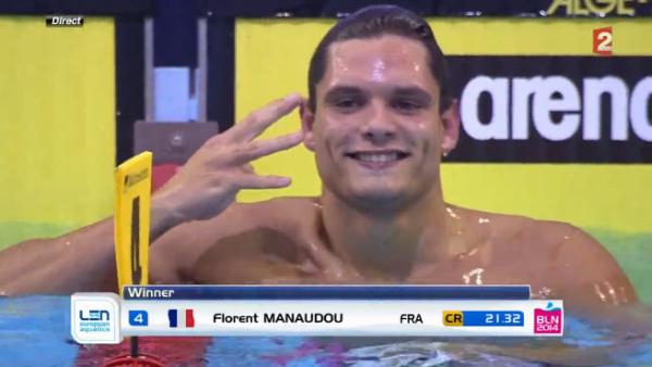 Florent Manaudou assomme la finale du 50m