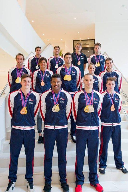 Photos des médaillés français des Euros De Berlin 2014