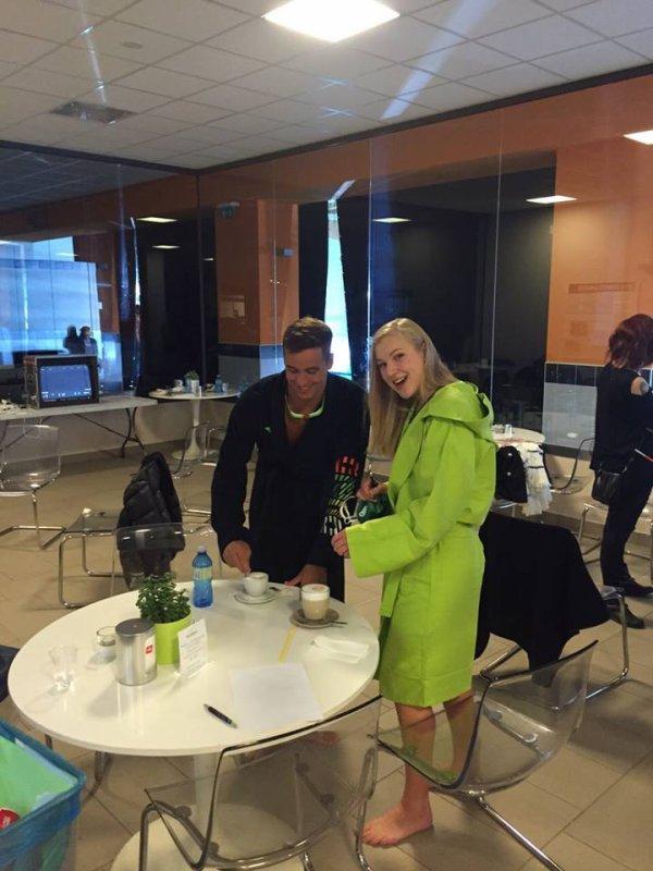 Chad Le Clos et Ruta Meilutyte : Shoot Arena à Milan