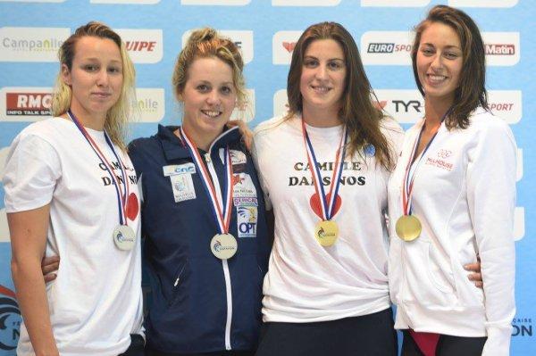 Première journée des Championnats de France de Natation en grand bassin 2015