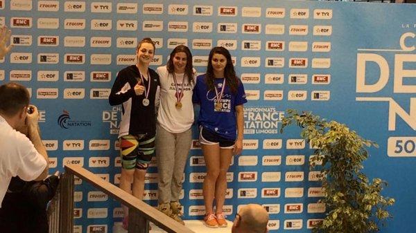 Cinquième journée des Championnats de France de Natation en grand bassin 2015