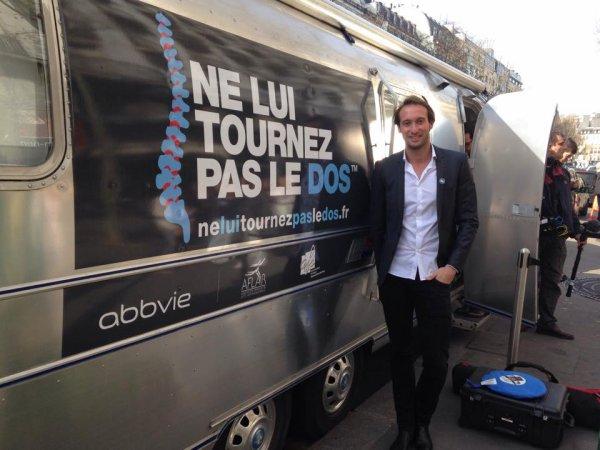 Fabien Gilot : Tournage