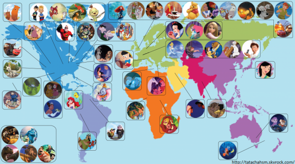 Pays (Disney )