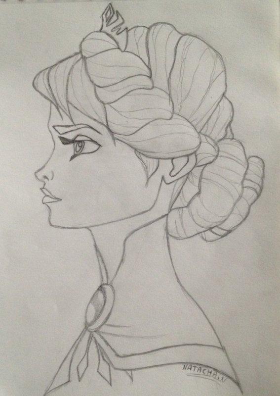 elsa dessin - Dessin Elsa