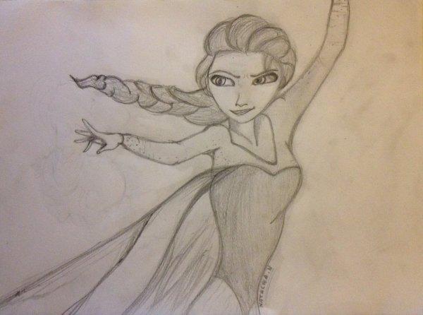 Elsa dessin