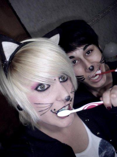 2 cats XD