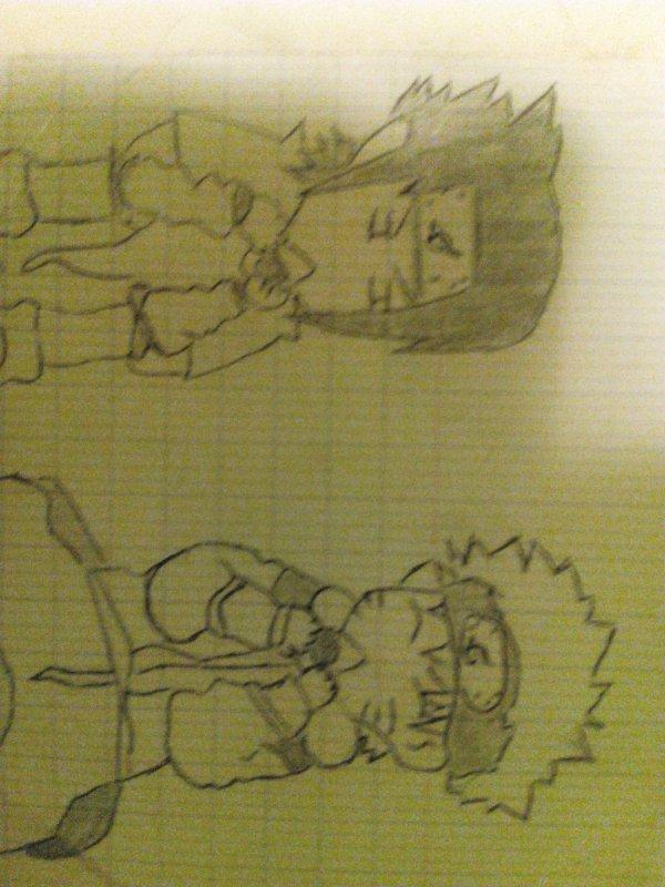 Naruto et Sasuke kawai