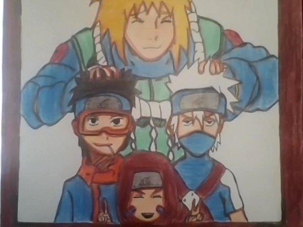 L'équipe de Minato Namikaze