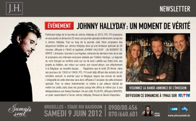 2011: A ne pas manquer dimanche 20/03/2011  sur rtl tvi à 19h45