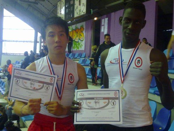 Champion de france boxe thai