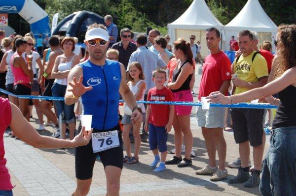 triathlon 1/4 de la Gileppe 2012