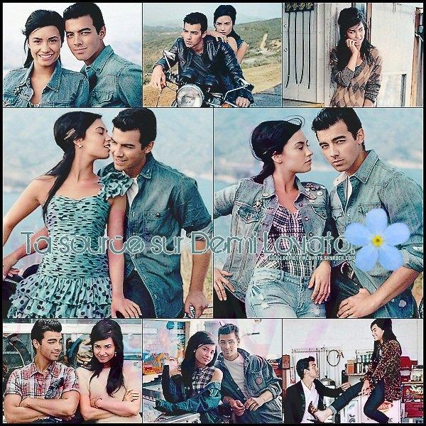 . Photoshoot ๑ Découvrez ou redécouvrez un shoot de Demi avec Joe Jonas pour le magasine Teen Vogue.  Tu aimes ?.