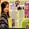 . Magazine ; 2011 ♦ Découvrez des scans du magazine J-14 de mars, où Demi apparait. .