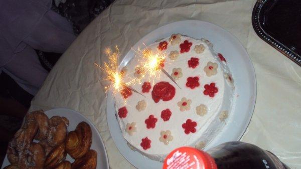 Que de faire le gâteau :))