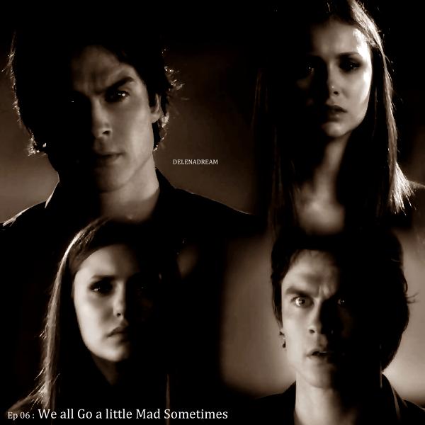 Saison 4 / Episode 6 : Après avoir tué Connor, Elena ne parvient pas à trouver le sommeil, elle se lève en pleine nuit et se fait surprendre par Connor, elle commence à se battre avec lui et elle lui plante un couteau dans la gorge… c'est en fait dans le cou de Jeremy que le couteau se retrouve… alors qu'il était venu voir pourquoi elle criait.Elena fait appel à Damon pour qu'il lui vienne en aide, elle ne fait plus confiance à Stefan après qu'il lui ait menti… Jeremy reprend connaissance.Elena reproche à Stefan d'avoir comploté avec Klaus mais Stefan ne peut rien lui dire.Tyler retrouve Haley et Chris ( un hybride), qui rendent hommage à la mort de Dean lorsque Klaus les interrompt. Caroline arrive chez Tyler pour lui rendre ses affaires, Klaus assiste à la scène et comprend qu'elle a du déjà rencontrer Haley. Quand Klaus s'en va, Tyler, Caroline et Haley espèrent que la ruse a fonctionné.Elena prend sa douche et recommence à avoir des visions sanguinolentes. Klaus retrouve Stefan devant chez Elena, il lui dit être au courant pour les hallucinations, cela est dû au fait qu'elle a tué un chasseur de vampire, Klaus souhaite la mettre à l'abri des visions…Elena aperçoit à nouveau Connor et alors qu'elle tente de lui échapper en sortant de la maison, Klaus en profite pour la kidnapper. Jeremy annonce à Matt que le tatouage du chasseur est apparu sur sa main lorsqu'April accompagnée du professeur Shane les interrompt.Stefan et Damon mettent Bonnie au courant pour les hallucinations d' Elena et ils lui demandent son aide pour contrer le sortilège magique, Bonnie ne sait pas comment mais elle leur propose de demander de l'aide à Shane…Klaus explique à Elena qu'il a également subit ces hallucinations pendant plus de 52 ans et il l'enferme dans une pièce pour sa sécurité…Stefan demande à Caroline si Tyler peut l'aider à éloigner les hybrides de Klaus pour récupérer Elena.Tyler et Caroline annoncent à Stefan que l'hybride Chris n'est plus sous le contrôle de Klaus grâce à Ha