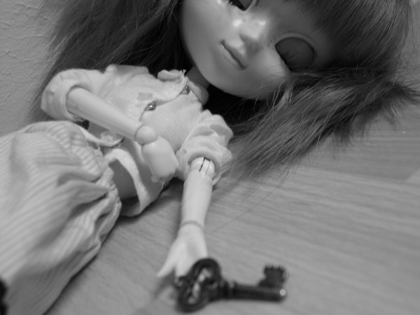 Black or white doll