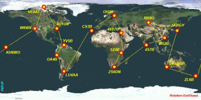 Balises VHF / UHF / SHF Françaises