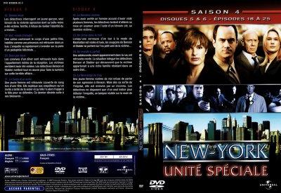 new york unité spéciale jaquette saison 4