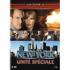 jaquette de new york unité spéciale saison 5