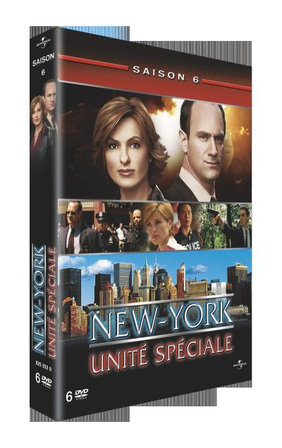 jaquette de new york unité spéciale saison 6