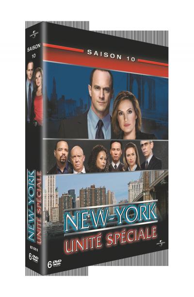jaquette de new york unité spéciale saison 10