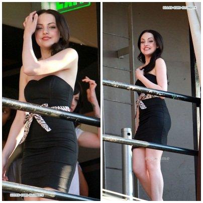 Des photos de Liz après le concert de l'équipe Victorious a Avalon Theatre !