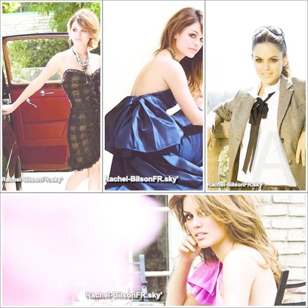 . › Redecouvrer un des plus photoshoot de Rachel ! Vous aimez ? & Un still de WFF ! ( P. non recentes )  .