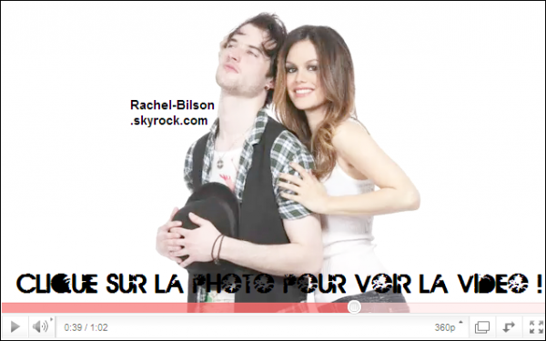 ".  01 / 02 / 11 _  › La promotion de "" Waiting For Forever "" commence ! Decouvrez Rachel , sublime . ."
