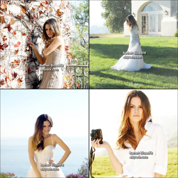 ". › Decouvrez le behind the scene du photoshoot de Rachel pour "" Madison "" !."