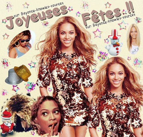 ☃         Joyeuses Fêtes !__________sur Beyonce-knowles-sources