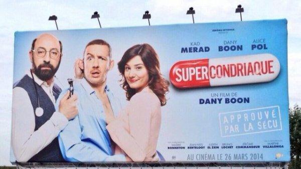 Supercondriaque, le nouveau Dany Boon présenté à Deauville