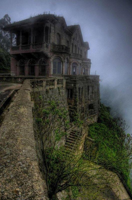 Hotel abandonné Colombie