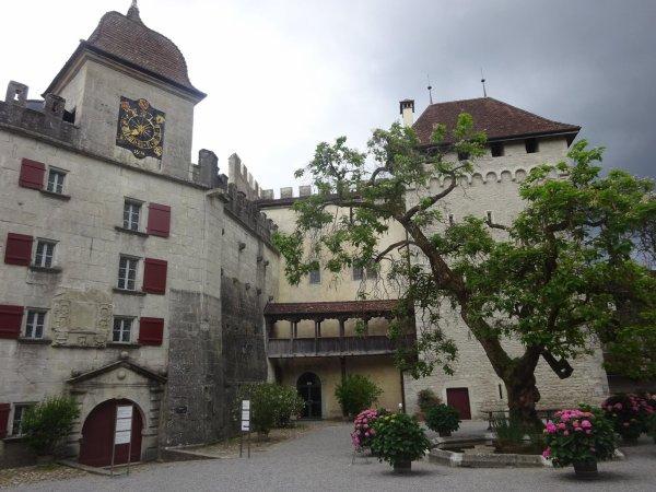 Schloss Sommerliche romantik lenzburg argovie 01,07,2017