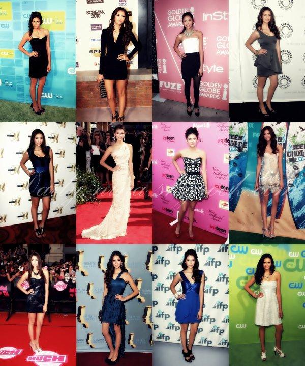 FLASH BACK des tenues de Nina lors de l'année 2010