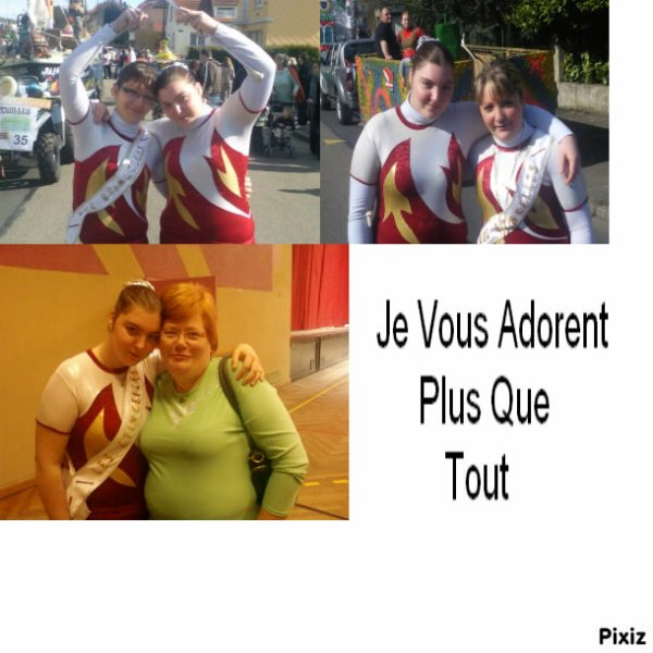Grande Soeur , Ma Diablesse , Claudine Et Moi <3
