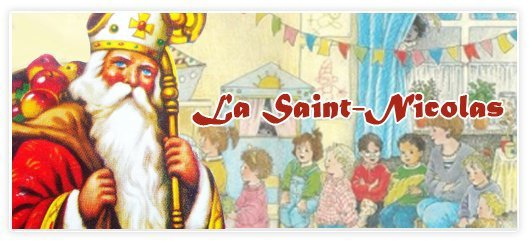 Vendredi 6 décembre 2013, Saint Nicolas