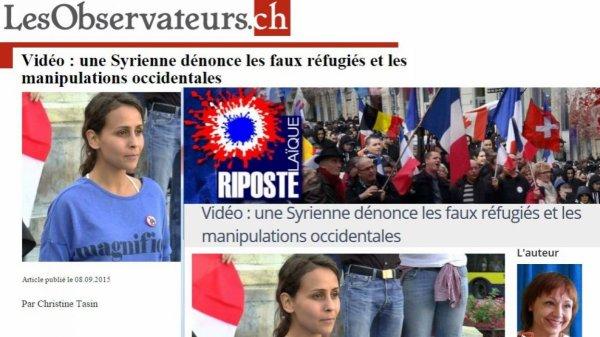 """Réfugiés: la guerre de l'info de la """"fachosphère"""" (RTBF)"""