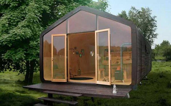 Petite maison en carton  !