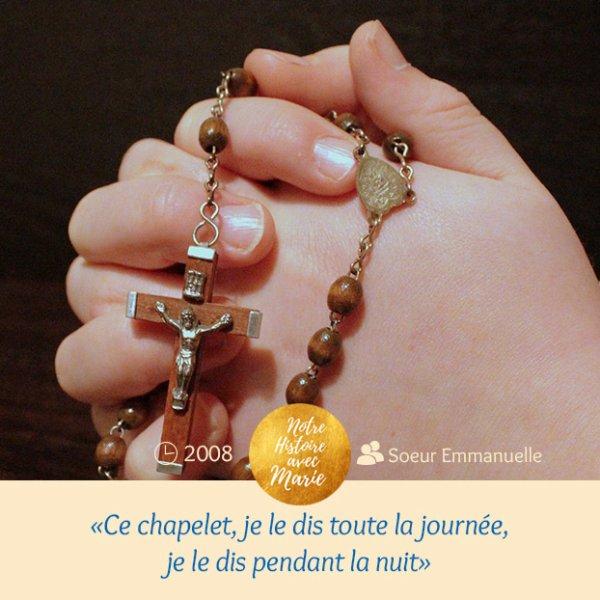 S¼UR EMMANUELLE, RELIGIEUSE DE NOTRE-DAME DE SION