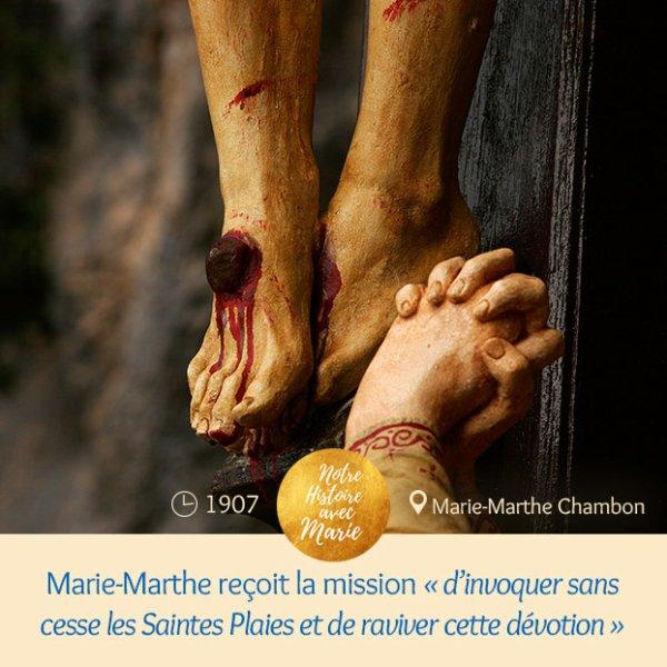 S¼UR MARIE-MARTHE CHAMBON, APÔTRE DES SAINTES PLAIES