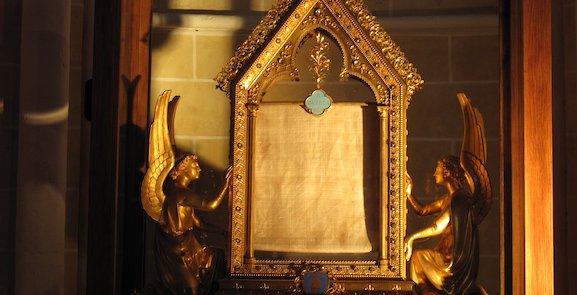 Le voile de Marie, relique incontournable de la chrétienté